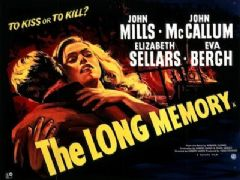 The Long Memory 1952 DVD - John Mills / John McCallum